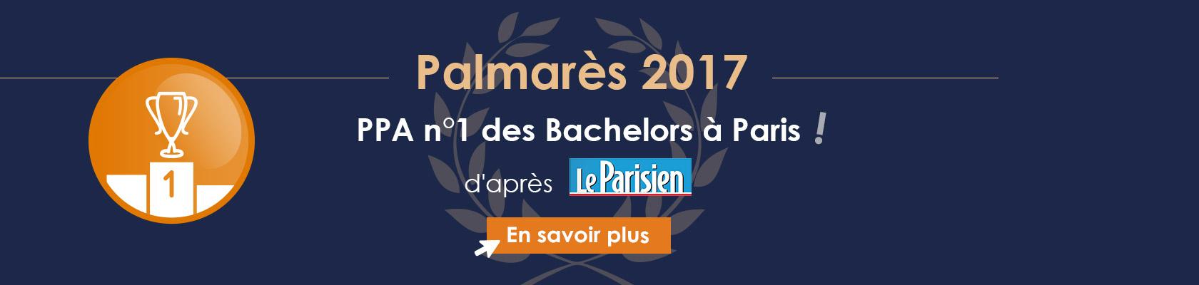 PPA n°1 des Bachelors à Paris !