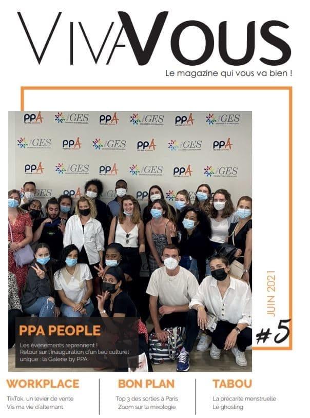 Couverture du magazine Viva vous 5e édition PPA